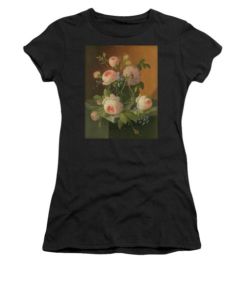 Still Life With Roses, Circa 1860 Women's T-Shirt
