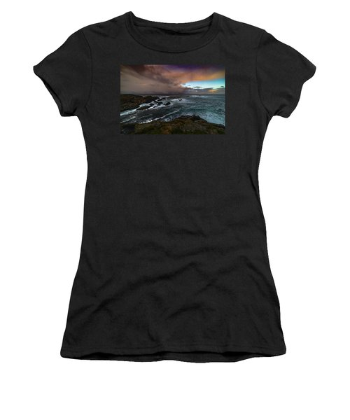 Storm Coastline Women's T-Shirt