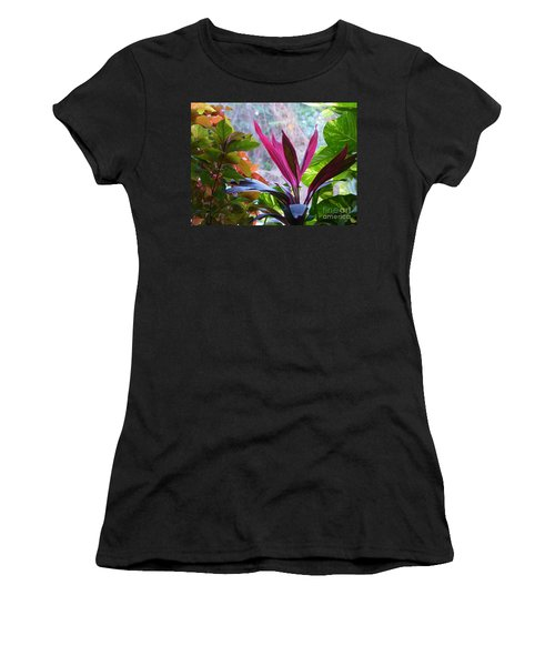 Women's T-Shirt featuring the photograph In The Pink by Rosanne Licciardi