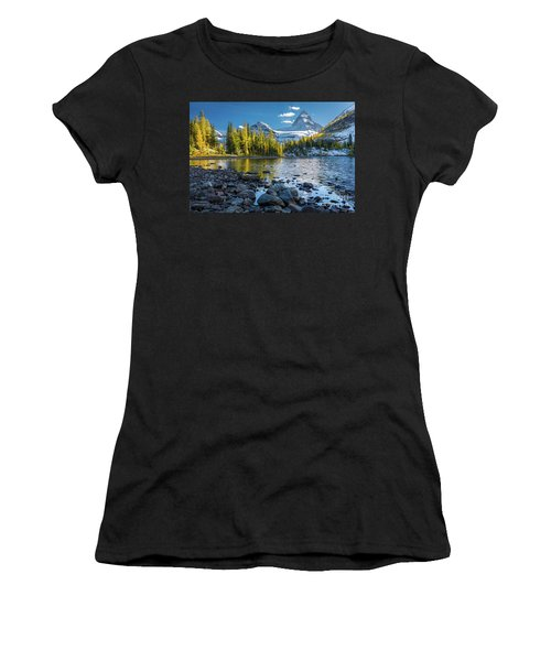 Sunburst Larch Trees Women's T-Shirt