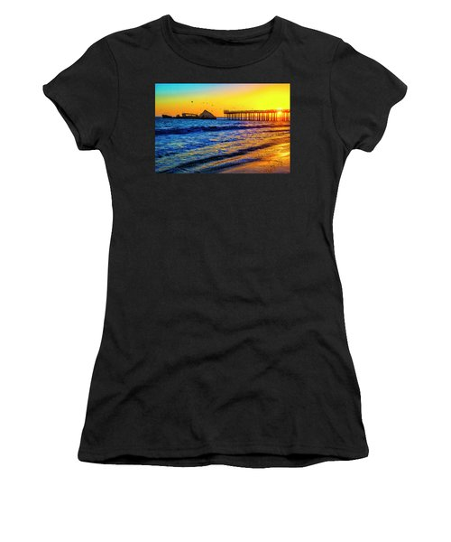 Sunken Ship Seacliffs State Beach Women's T-Shirt