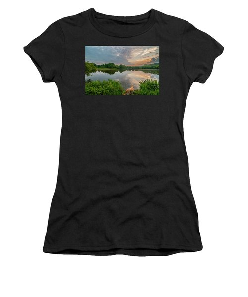 Sunrise At Ross Pond Women's T-Shirt