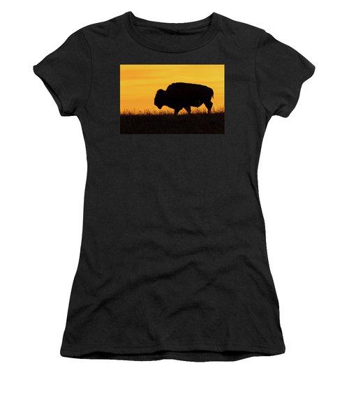 Sunrise Bison Women's T-Shirt
