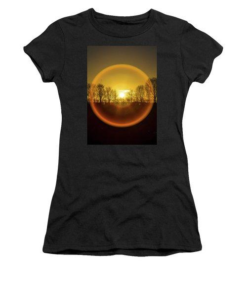 Sunrise. New Years Eve. Women's T-Shirt