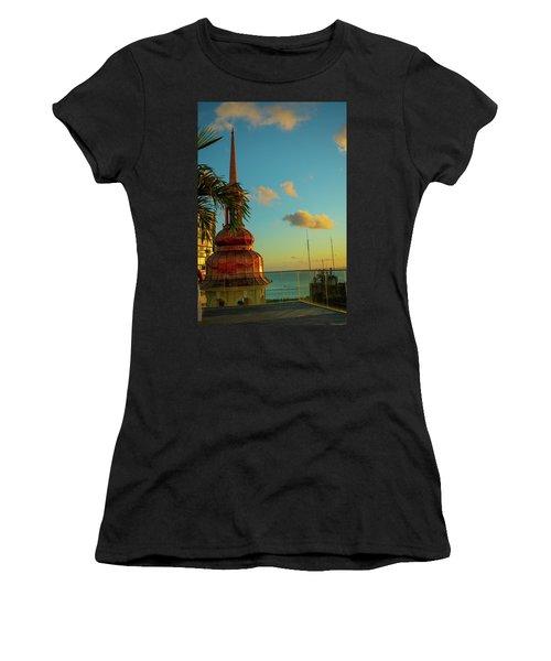 Sunset At Fera Palace Women's T-Shirt