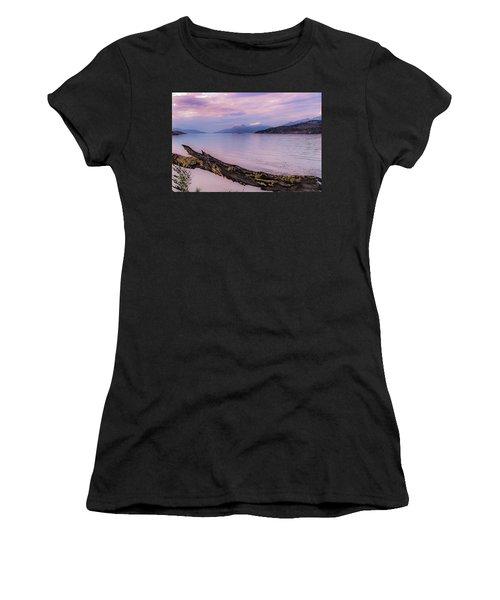 Sunset In Ushuaia Women's T-Shirt