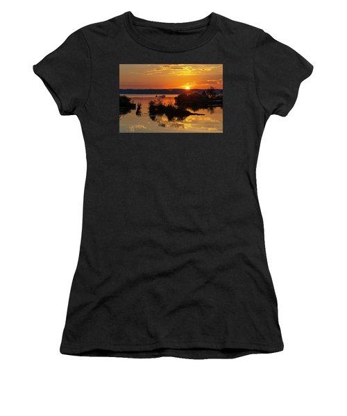 Sunset, Mallows Bay Women's T-Shirt