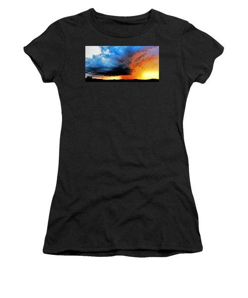 Sunset Storm Women's T-Shirt