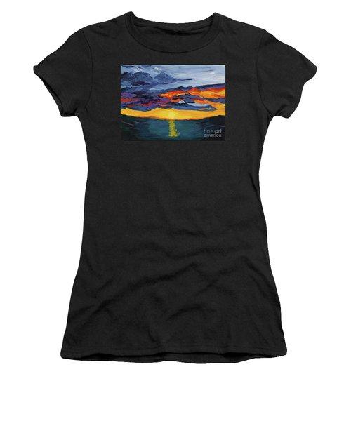 Sunset Streak Women's T-Shirt