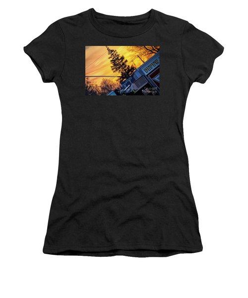 Sunset Streams Women's T-Shirt
