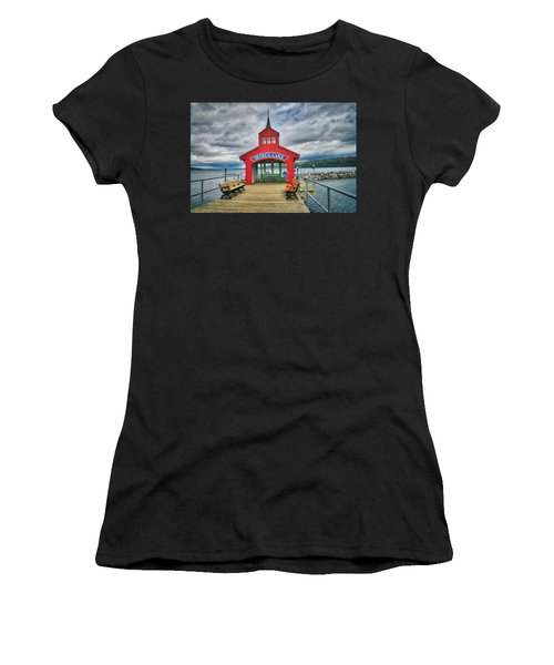 Women's T-Shirt (Athletic Fit) featuring the photograph The Charm Of Seneca Lake - Finger Lakes, New York by Lynn Bauer