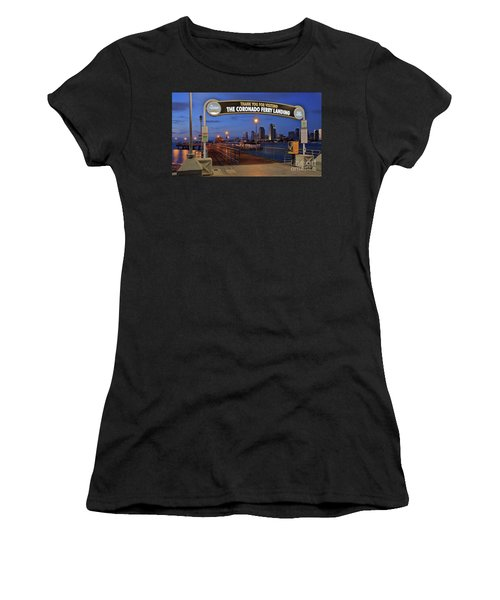 The Coronado Ferry Landing Women's T-Shirt