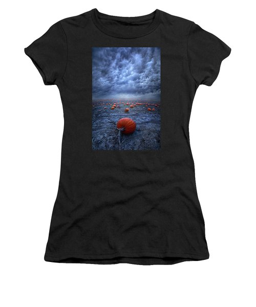 Women's T-Shirt featuring the photograph The End Was Left Behind by Phil Koch