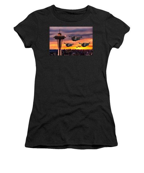 The Evening Commute Women's T-Shirt