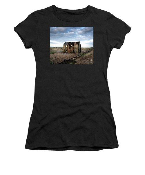 The Net Shack, Dungeness Beach Women's T-Shirt