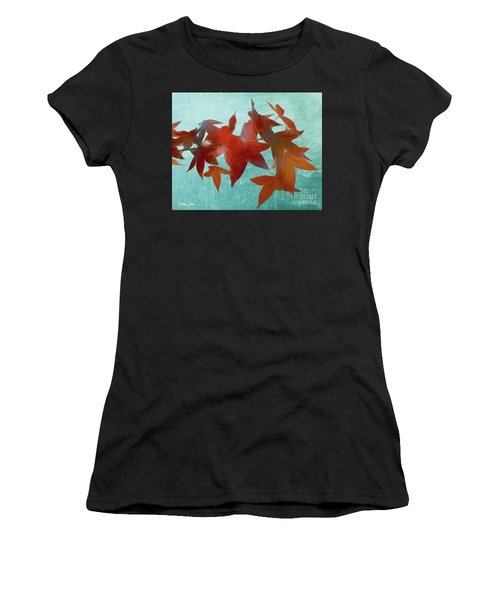 The Red Leaves Women's T-Shirt