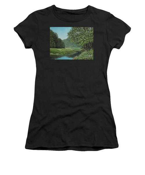 The Wye River Of Wales Women's T-Shirt