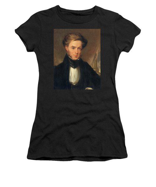 Portrait Of Thomas Ustick Walter, 1835 Women's T-Shirt