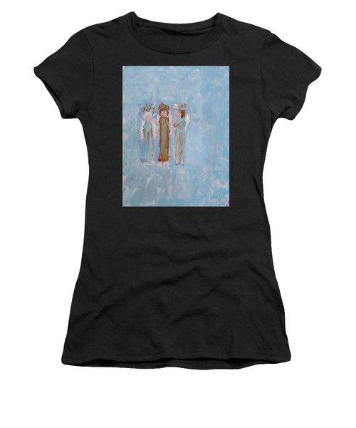 Three Friendly Angels Women's T-Shirt