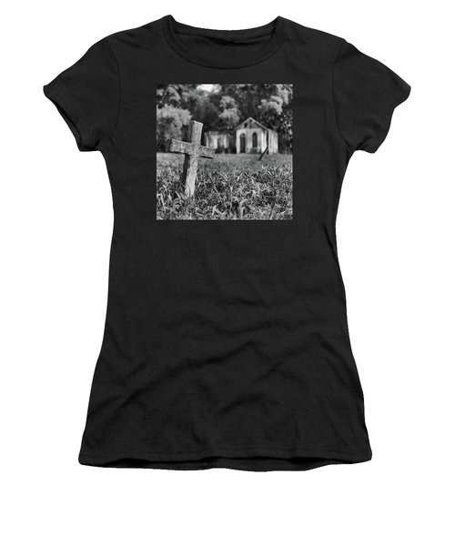 Tombstone, St. Chad's, Trinidad Women's T-Shirt