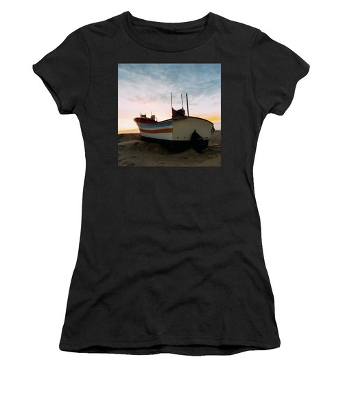 Traditional Wooden Fishing Boat Women's T-Shirt
