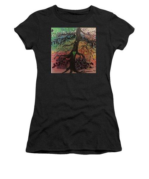 Tree Of Life Chakra Tree Women's T-Shirt