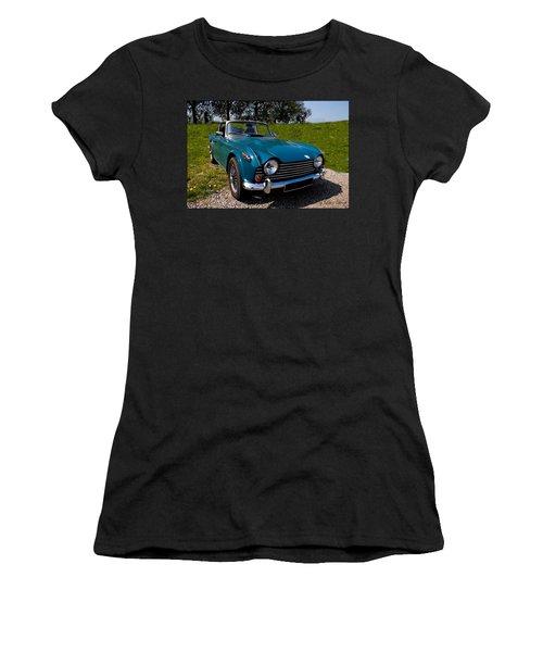 Triumph Tr5 Blue Women's T-Shirt