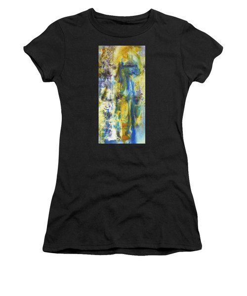 Women's T-Shirt featuring the painting Untitled3 by 'REA' Gallery