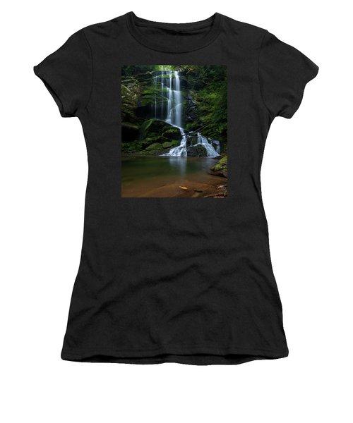 Upper Catawba Falls, North Carolina Women's T-Shirt