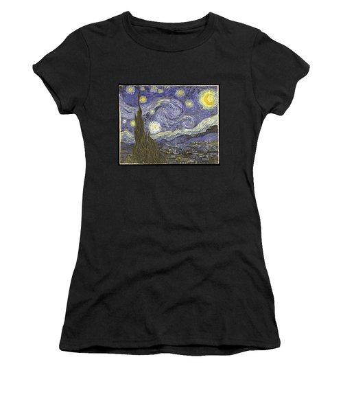 Van Goh Starry Night Women's T-Shirt