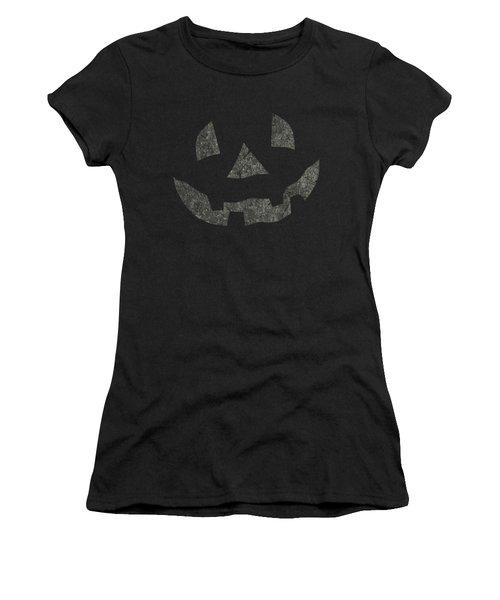 Vintage Pumpkin Face Women's T-Shirt