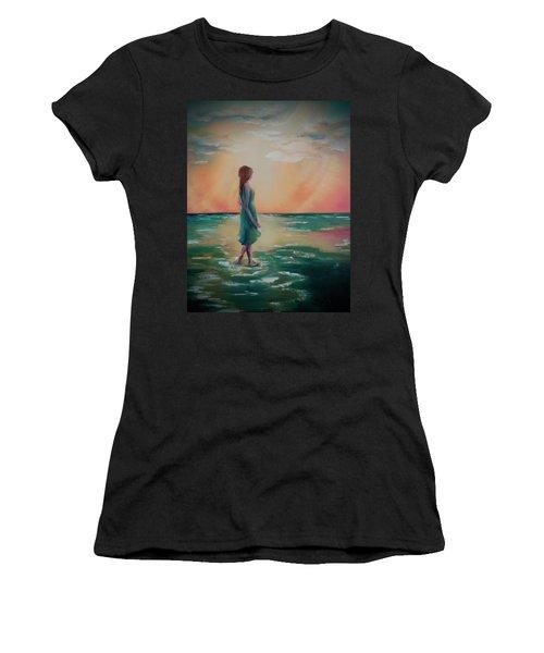 Walk Through Water Women's T-Shirt