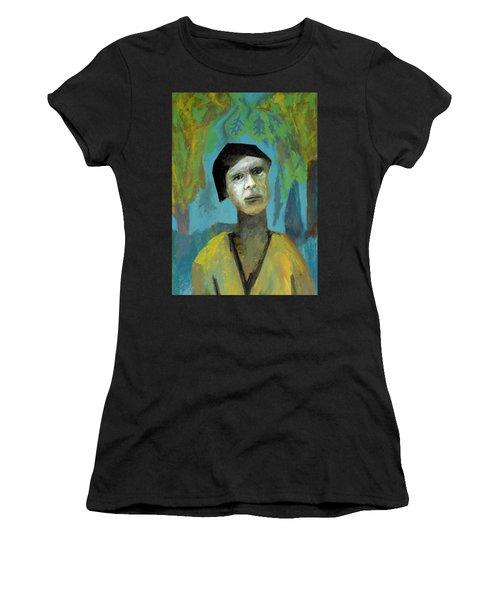 Walking In A Forest Women's T-Shirt