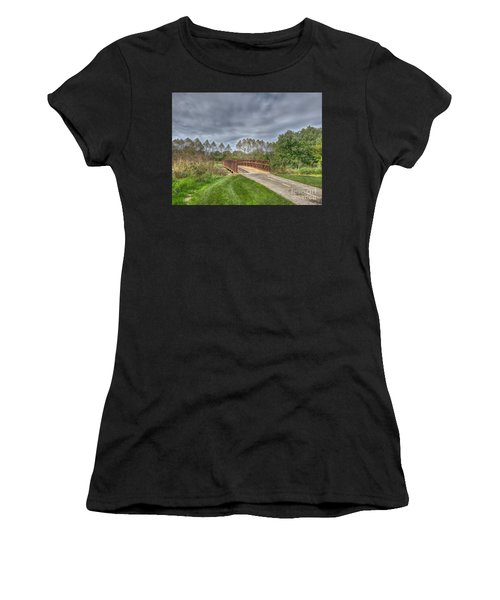 Walnut Woods Bridge - 2 Women's T-Shirt