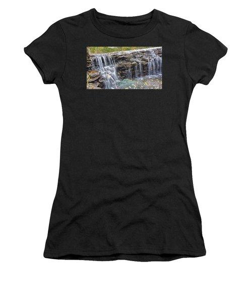 Waterfall @ Sharon Woods Women's T-Shirt