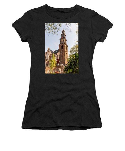 Westerkerk In Amsterdam Women's T-Shirt