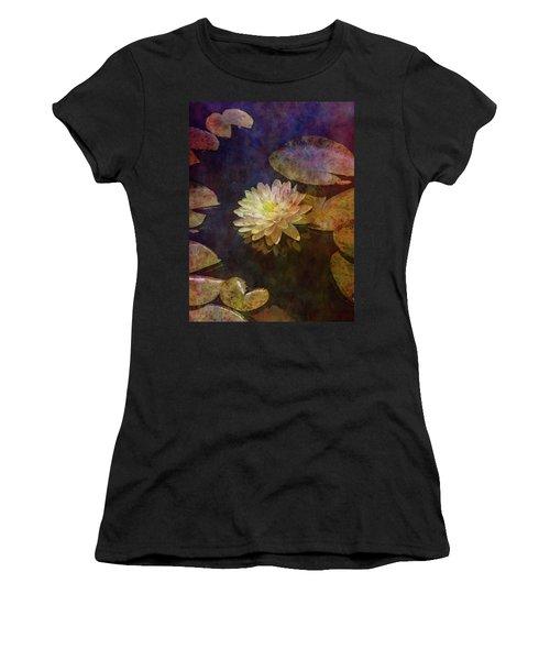 White Lotus Lily Pond 2938 Idp_2 Women's T-Shirt