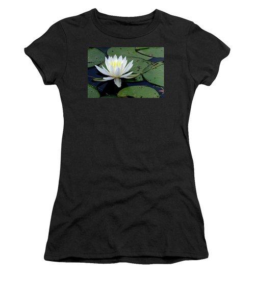 White Water Lilly Women's T-Shirt