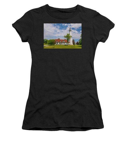 Wind Point Lighthouse  Women's T-Shirt