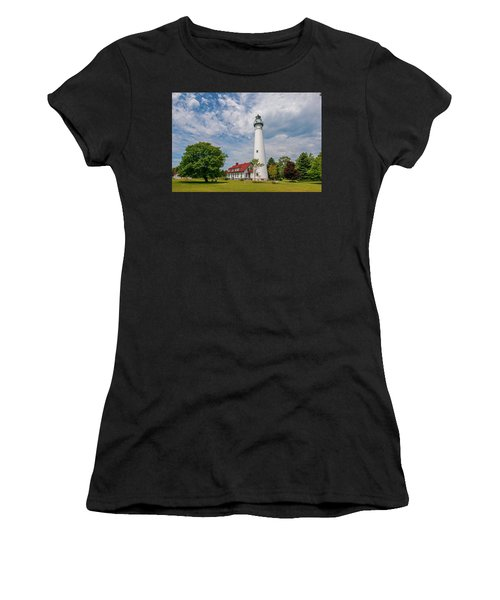 Wind Point Lighthouse No 3 Women's T-Shirt