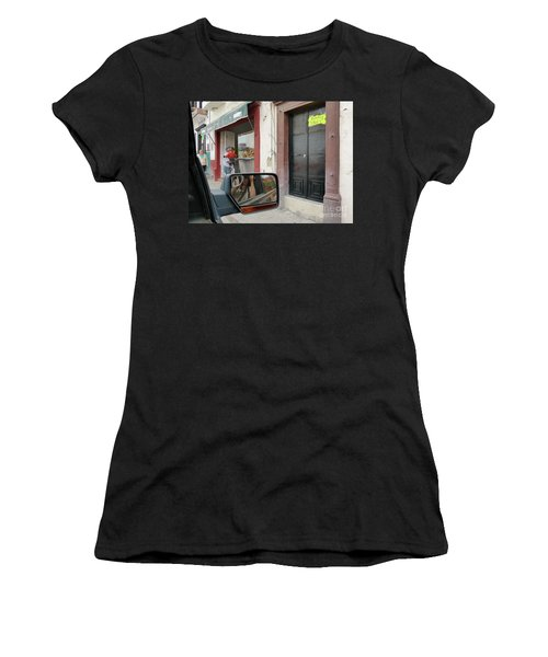 Women's T-Shirt featuring the photograph Window Shopping  by Rosanne Licciardi