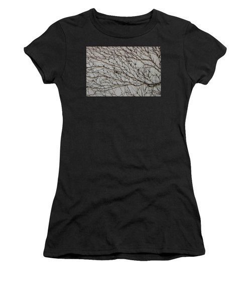 Women's T-Shirt featuring the photograph Woodbine by Attila Meszlenyi