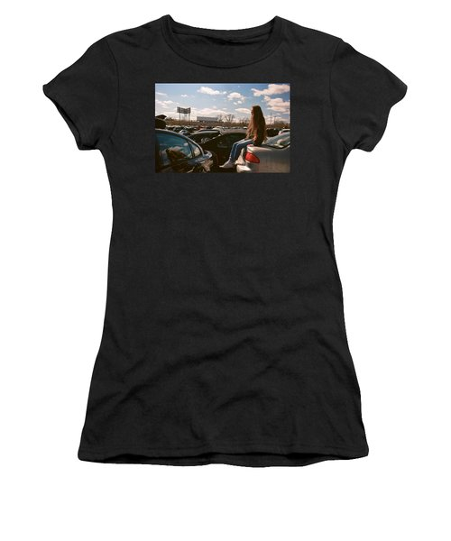 Women's T-Shirt featuring the photograph Zoom Zoom by Carl Young