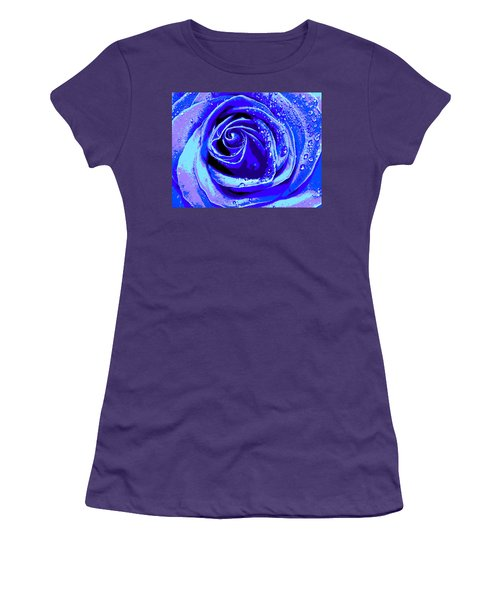 Forever In Blue Women's T-Shirt (Athletic Fit)