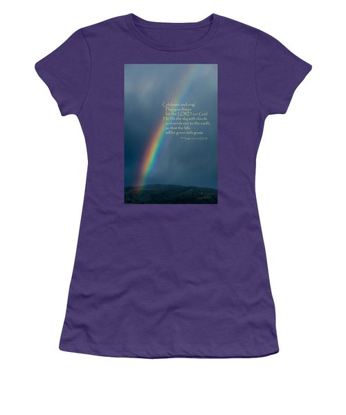 A Gift From God Women's T-Shirt (Junior Cut) by Mick Anderson