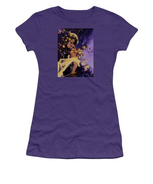 A Mid Summer's Night's Dream Women's T-Shirt (Junior Cut) by Vivien Rhyan