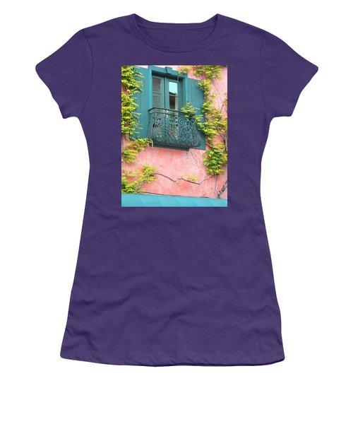 Room With A View Women's T-Shirt (Junior Cut) by Brooks Garten Hauschild