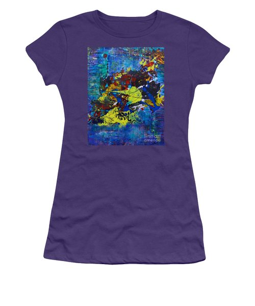 Abstract Fish  Women's T-Shirt (Athletic Fit)