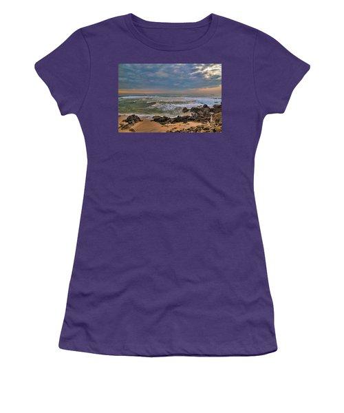 Beach Landscape Women's T-Shirt (Athletic Fit)