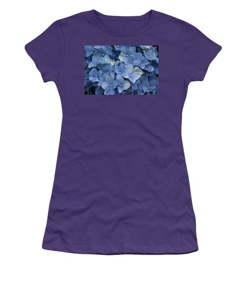 Blue Over You With Tears Women's T-Shirt (Junior Cut)